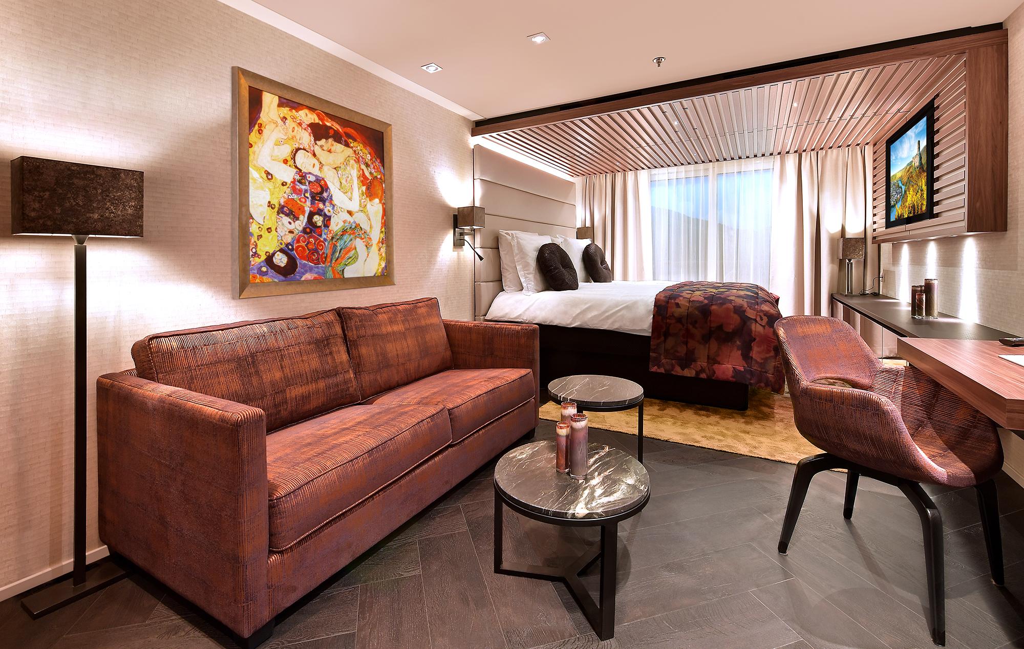 AmaMagna - Vista de Suite con balcón